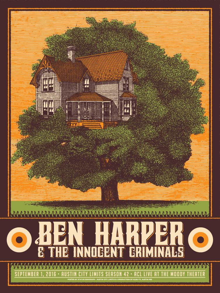 2016-09-01 @ Austin City Limits | Ben Harper